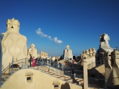 Roof Top Terrace of La Pedrera Barcelona