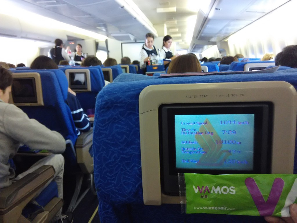 Wamos using planes previously owned by Singapore Airlines