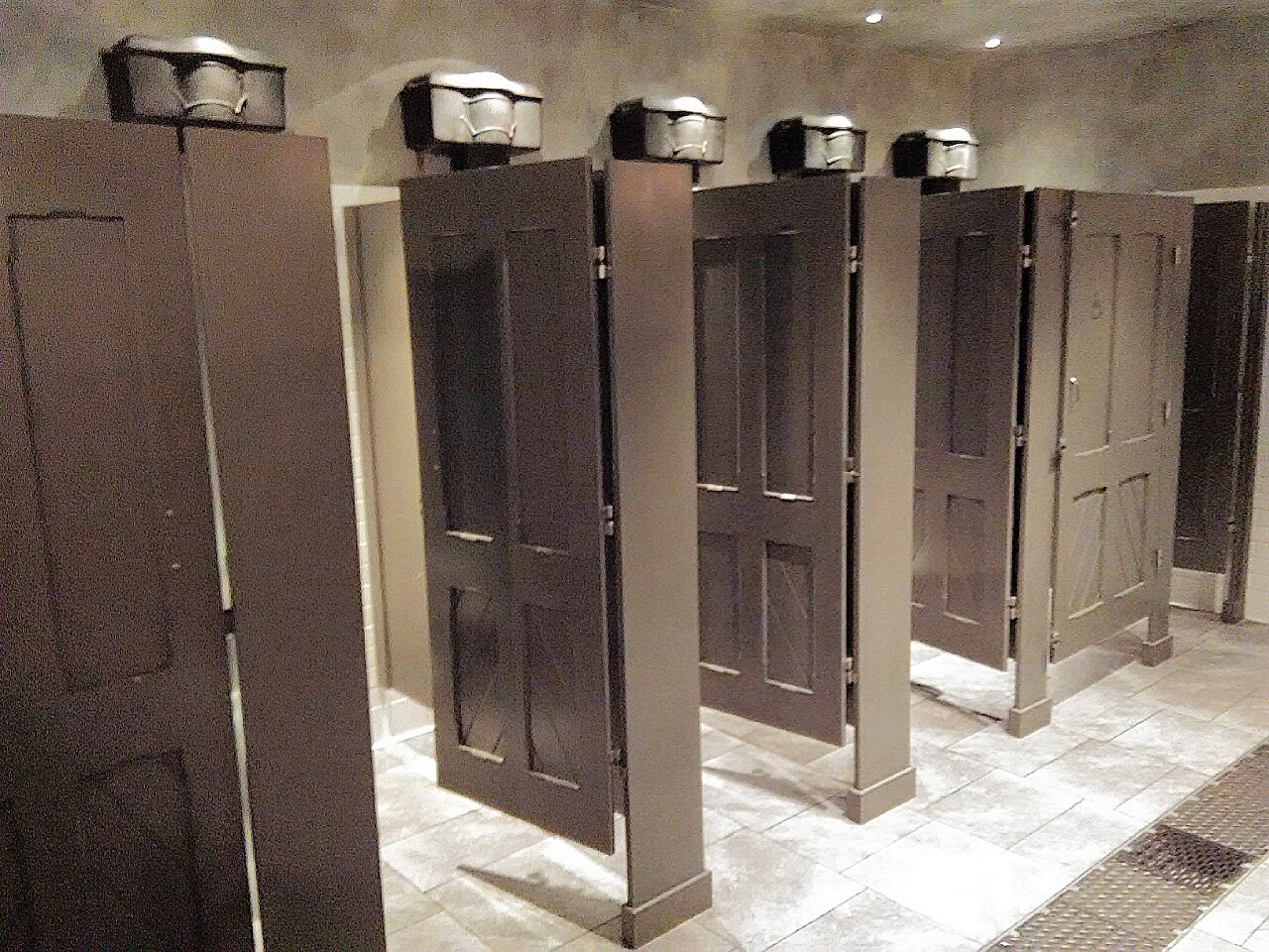 Moaning Myrtle in Wizarding World of Harry Potter Toilet Universal Studios Hollywood
