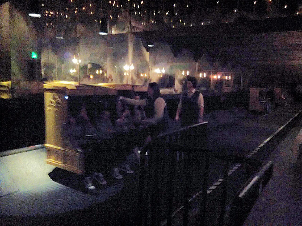 Harry Potter and the Forbidden Journey Seating