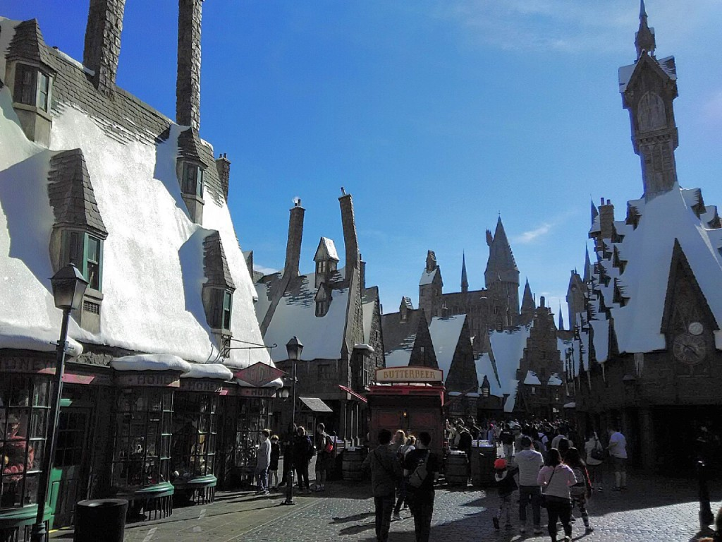 Hogsmeade at the Wizarding World of Harry Potter Universal Studios Hollywood