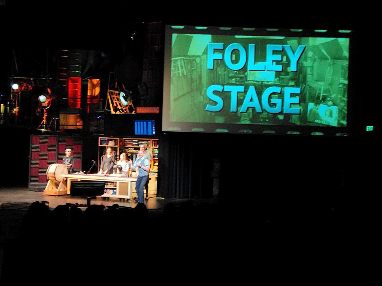 Special Effects Show Foley Stage