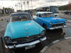 You can only buy a Cuban car with cash