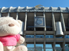 2bearbear @ Santiago Bernabeu Stadium Home of Real Madrid FC