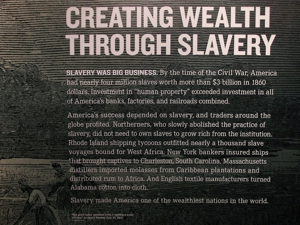 Creating Wealth Through Slavery