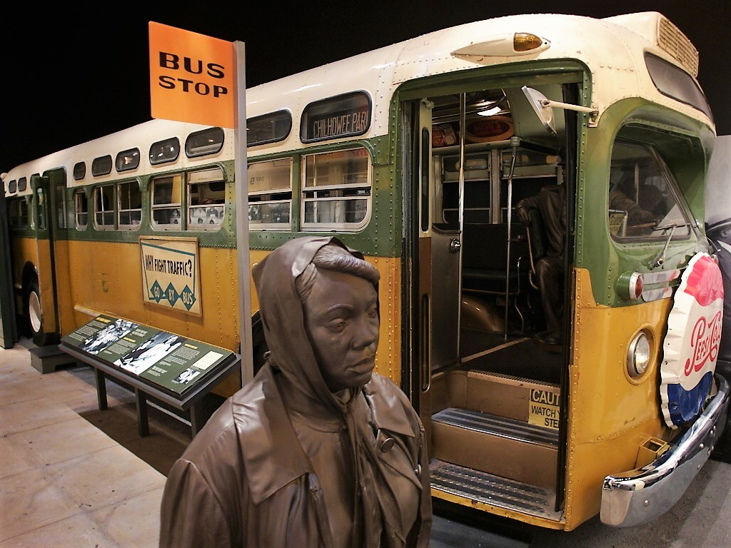 Rosa Parks and Segregated Bus