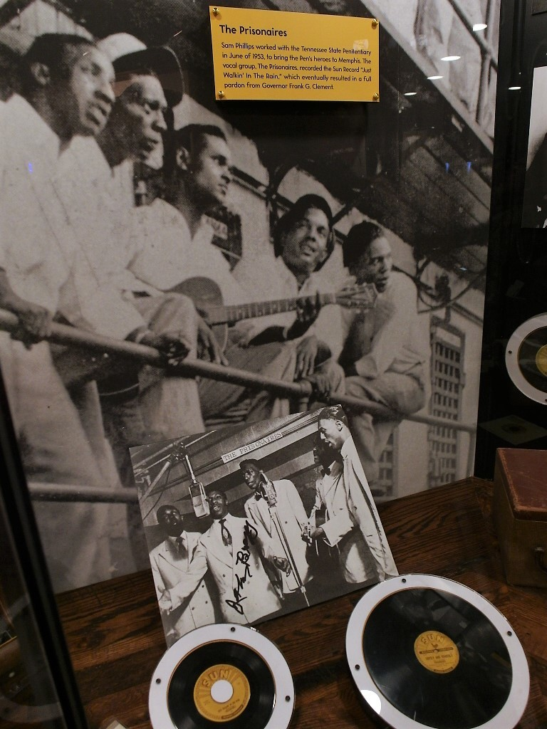 The Prisonaires recorded at Sun Studios