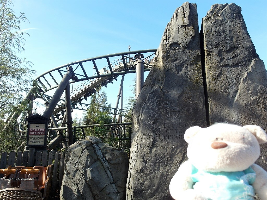 Flight of the Hippogriff Roller Coaster Ride Universal Studios Hollywood