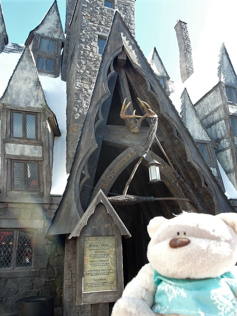 Three Broomsticks Restaurant at the Wizarding World of Harry Potter Universal Studios Hollywood