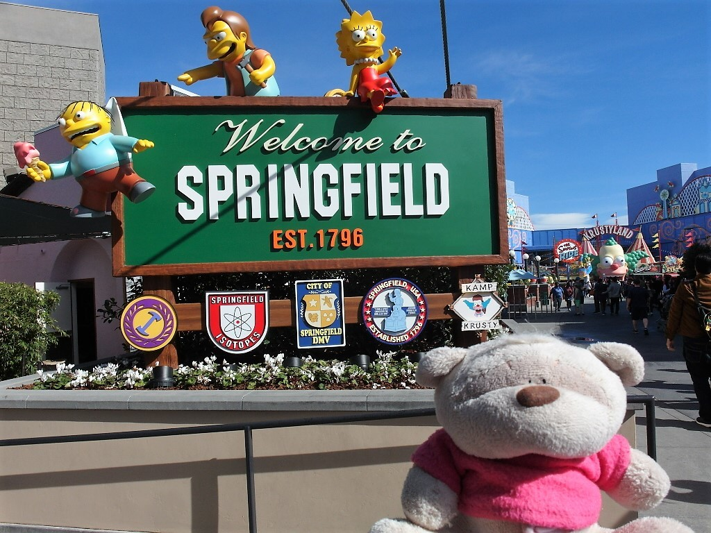 Springfield USA - World of the Simpsons