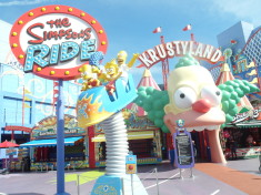 The Simpsons Ride Universal Studios Hollywood