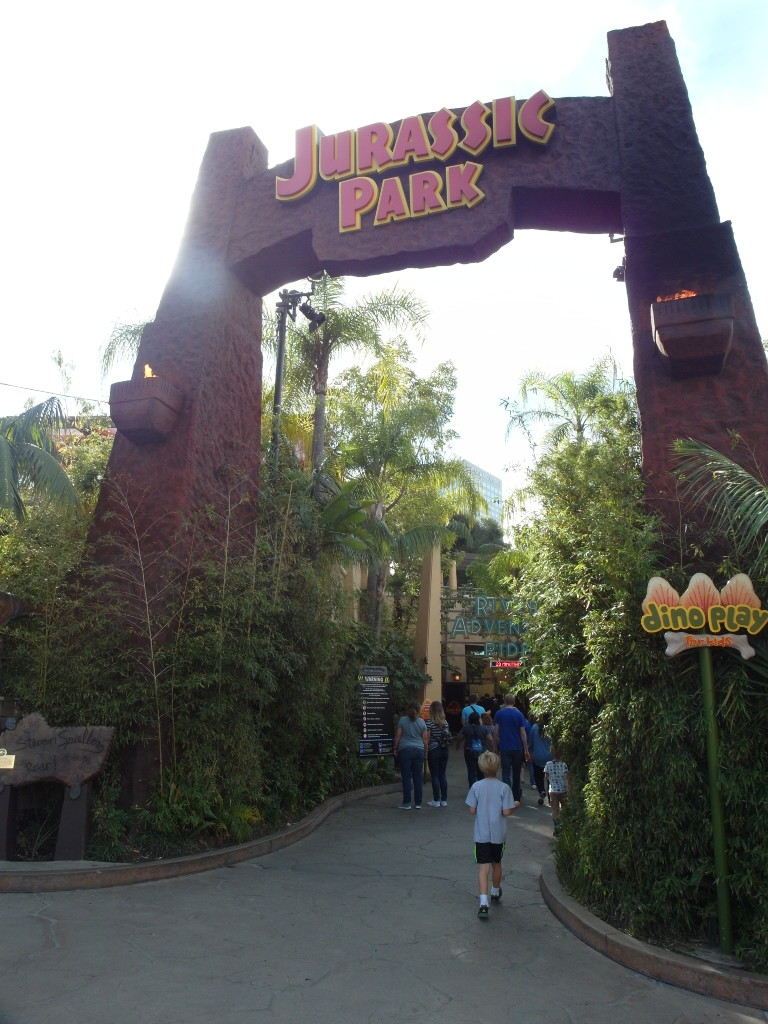 Jurassic Park The Ride Universal Studios Hollywood