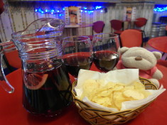 Sangria in Plaza Mayor Madrid