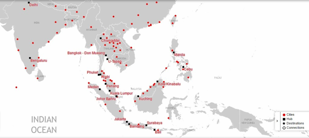AirAsia Destinations