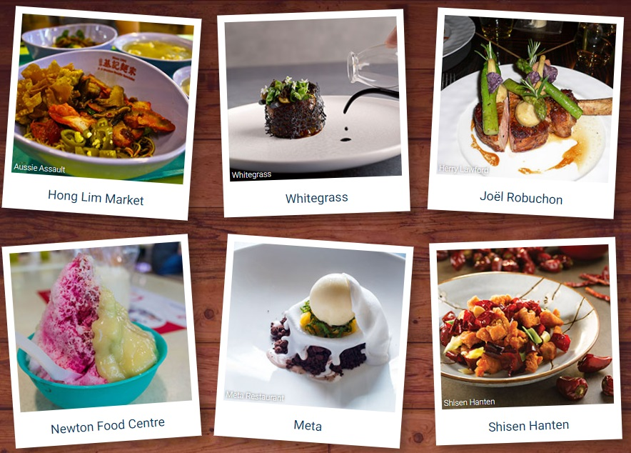 Expedia Food Guide in Singapore