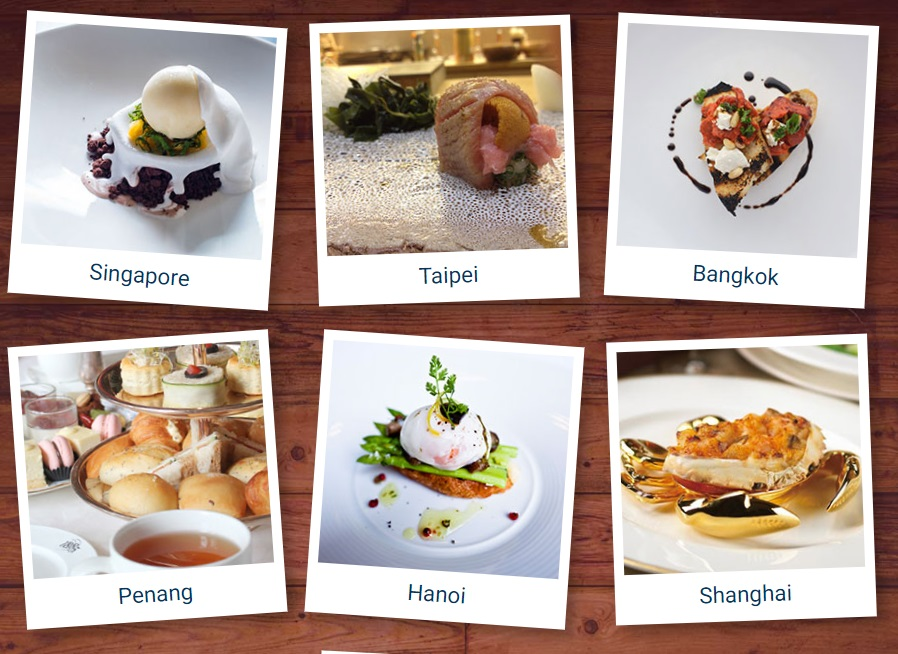 Expedia Food Guide - Asian Cities including Singapore