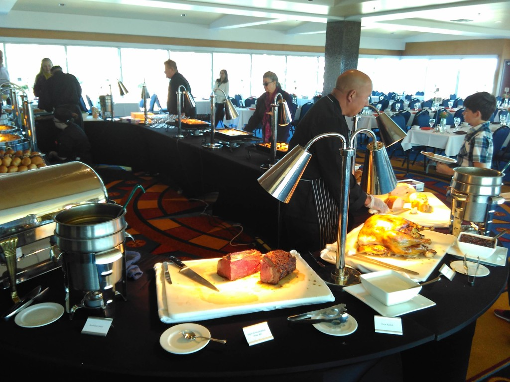 Carving Station Thanksgiving Buffet Lunch Marriott Monterey