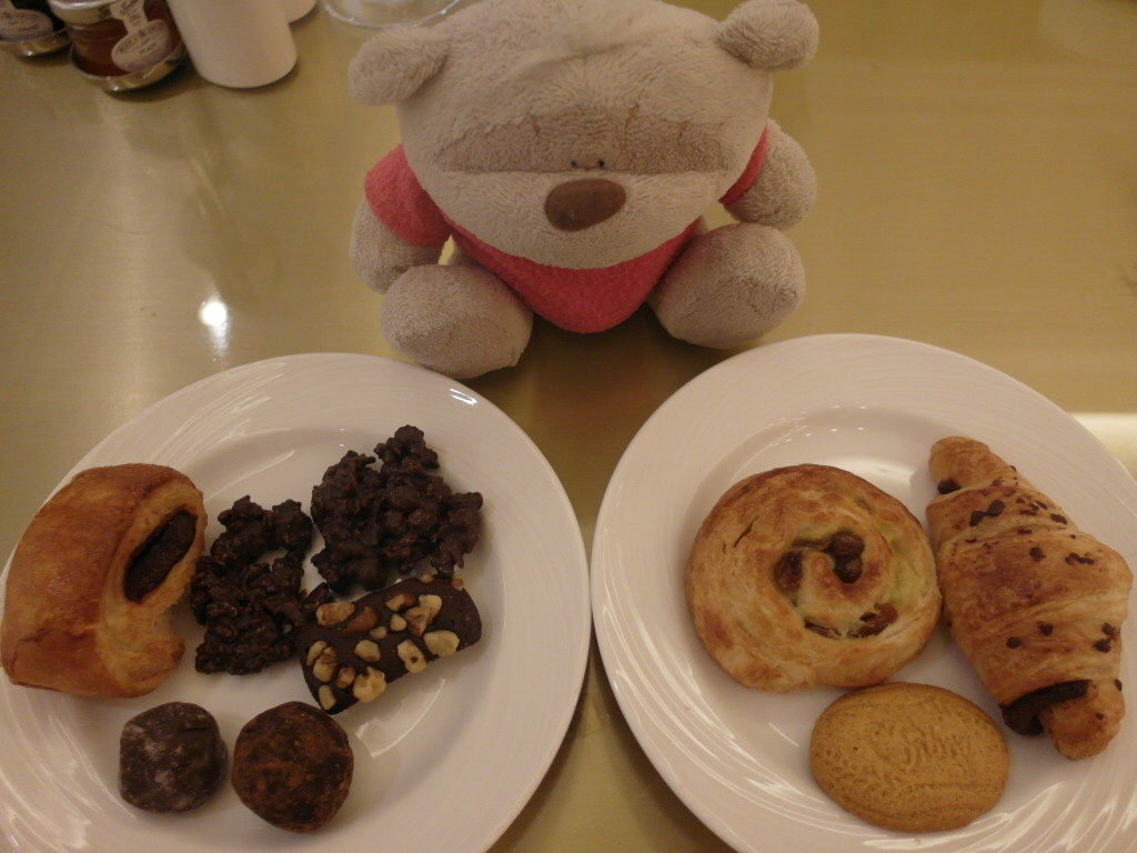 Chocolates and pastries- Kate's favourite!