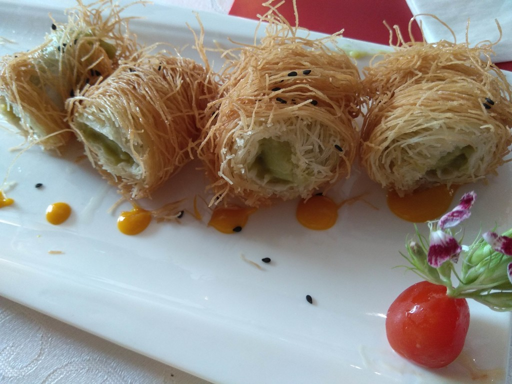 Crispy Avocado Roll