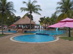 Swimming Pool at Sand and Sandals Desaru