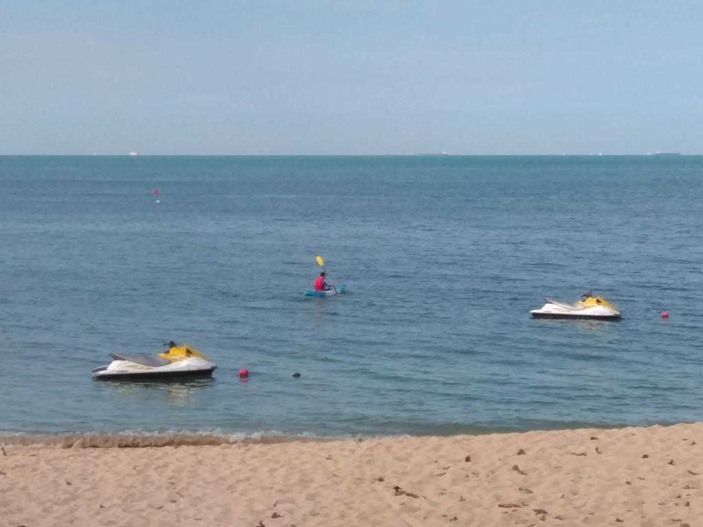 Jet skis at Sand and Sandals Desaru