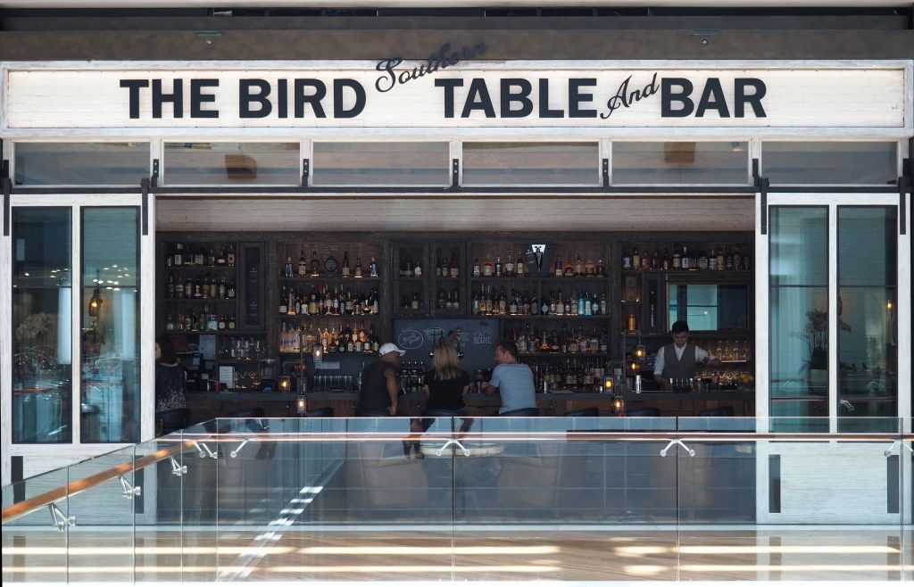 Entrance of The Bird Southern Table and Bar