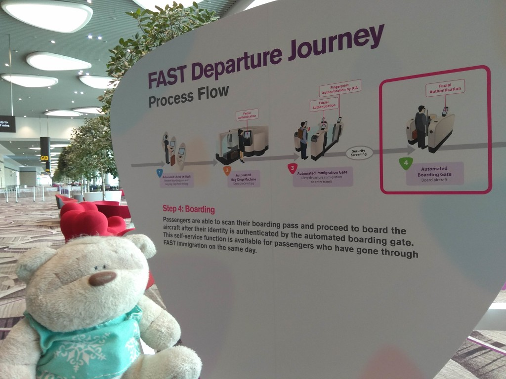 FAST System (Fast and Seamless Travel) at Changi Airport
