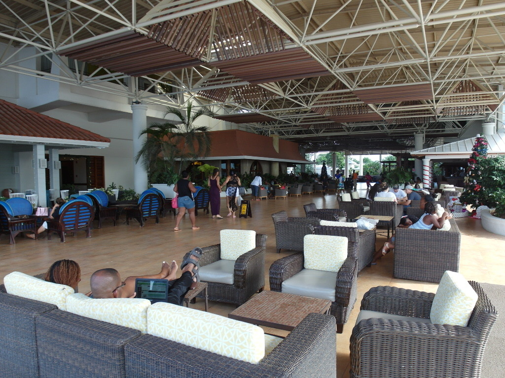 Lobby of Sunscape Splash Montego Bay