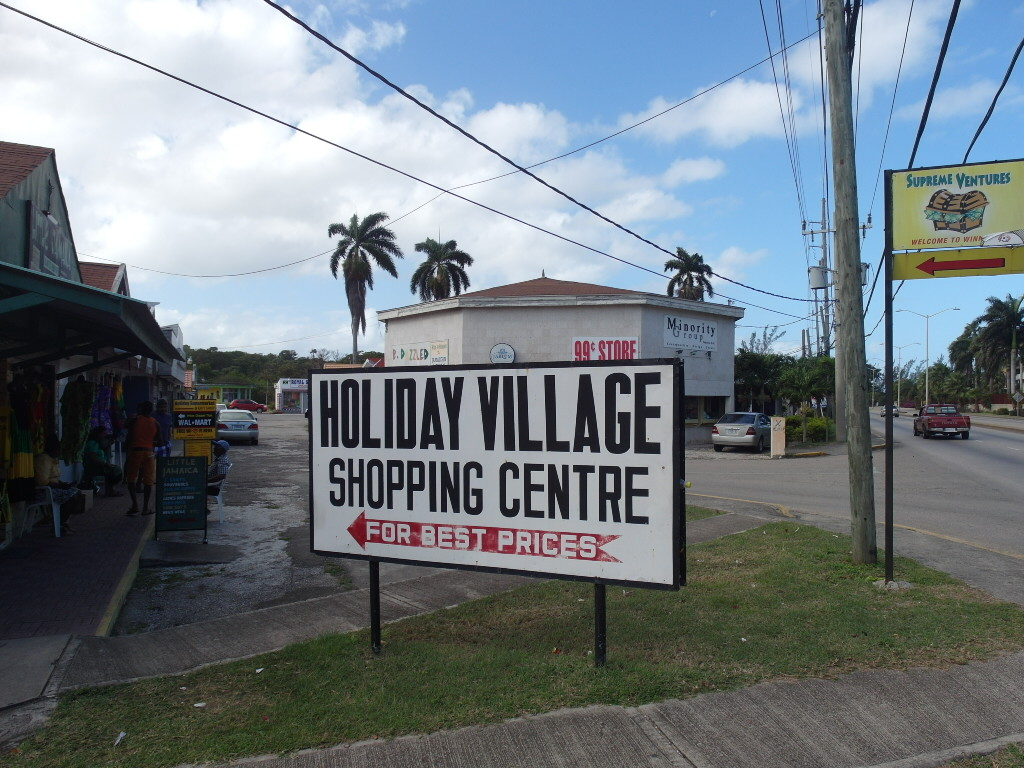 Holiday Village Shopping Centre across from Holiday Inn Resort Montego Bay