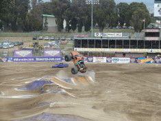 Scooby Doo in Mid Air - Monster Jam