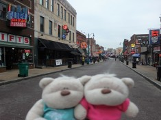 Blues Rock & Roll or just good BBQ at Beale Street Memphis
