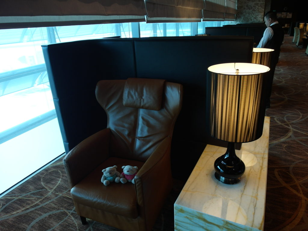 The Private Room for Singapore Airlines First Class Passengers