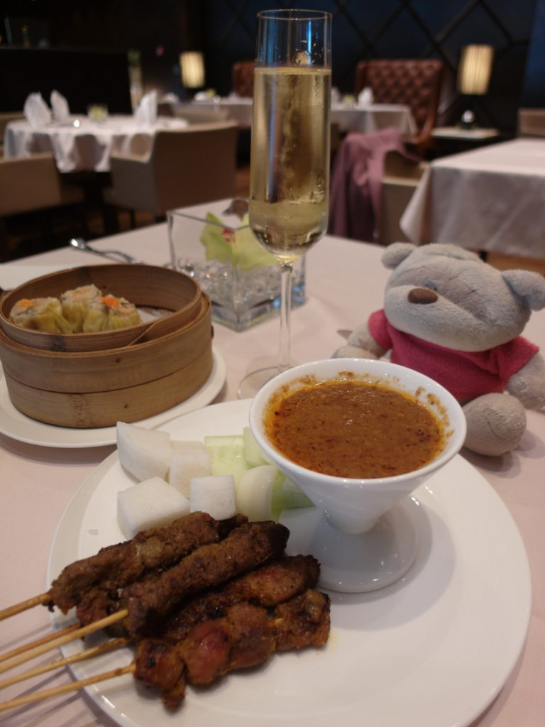 Satay and Dim Sum of SIA The Private Room