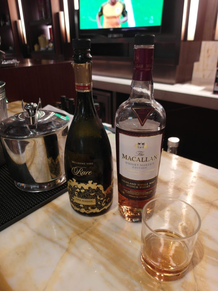 Piper Heidsieck 2002 Rare and Macallan Whiskey Maker's Edition