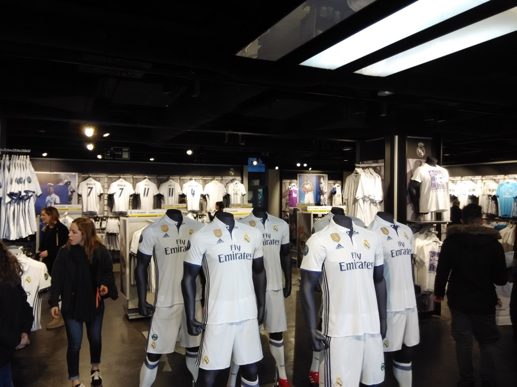 The Official Real Madrid Store @ Bernabeu Stadium