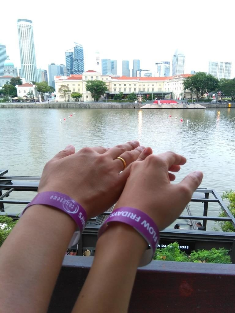 Wristbands for Panorama Free Flow Events at Boat Quay