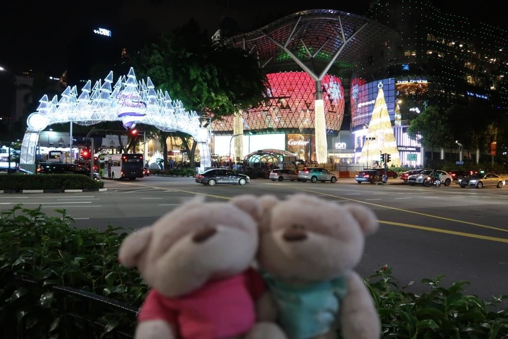 Christmas lightings at Orchard Road - Singapore's Premier Shopping Belt
