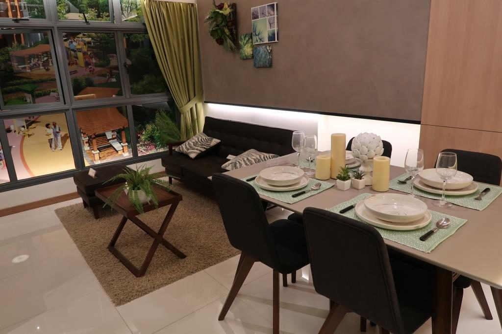 Living Room of 3 BR Layout at My Nice Home Gallery @ Toa Payoh HDB Hub