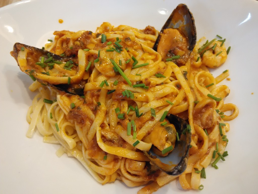 Shiok but expensive pasta at Cafe & Tapas Madrid