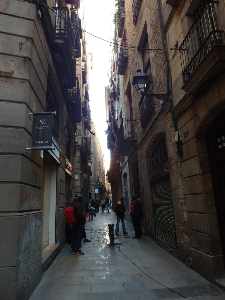 Cobbled Streets of Barcelona