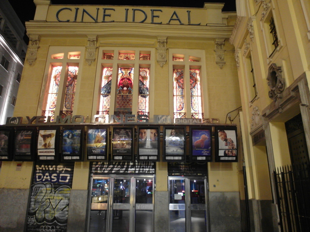 Cine Ideal Madrid - For English Movies