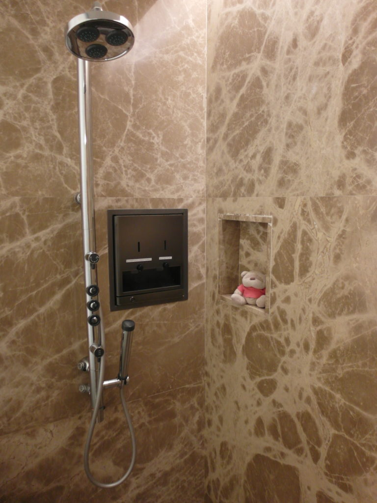 SQ The Private Room Shower Facility with Body Shower Jets