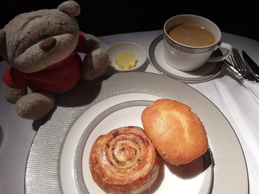 SQ First Class Bread Selection with Jamaican Blue Mountain Coffee