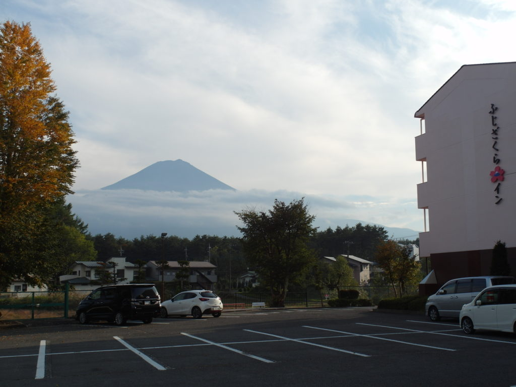 Fujizakura Inn with views of Mount Fuji