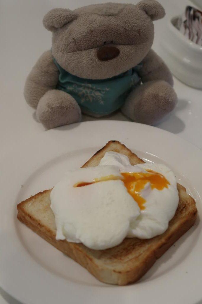 Poached Eggs at Mercure Singapore Bugis Breakfast