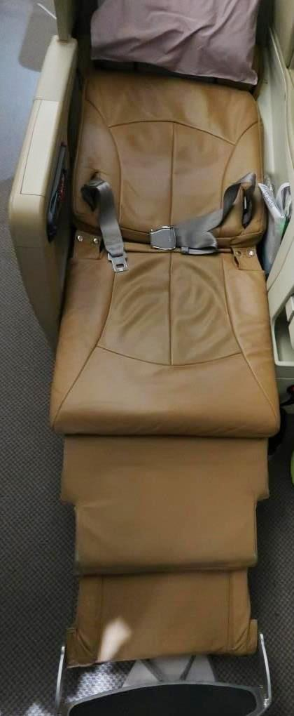 Singapore Airlines A330-300 Business Class Seats